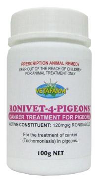Vetafarm 25g Ronivet 4 Pigeons